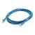 LogiLink RJ45 CAT5e UTP M/M adatkábel 0.25m kék