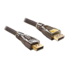 DELOCK Displayport M/M video jelkábel 5m Premium