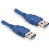 DELOCK USB 3.0 A M/M adatkábel 0.5m