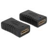 DELOCK HDMI mini C M/M adapter fekete