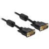 DELOCK DVI-D M/M video jelkábel 3m