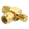 DELOCK SMA T csatlakozó plug/plug/jack
