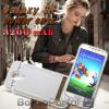 Power Case - beépített akkumulátoros tok / telefon tartó / Samsung S4