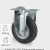 Tömörgumis kerék FIX villában (200)