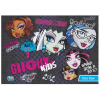 Monster High matrica album A/5 8lap