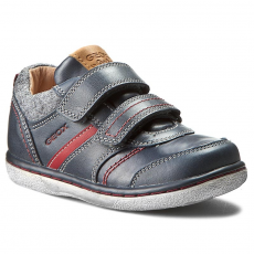 Geox Félcipő GEOX - B Flick B. I B5437I 0CL54 C4075 D Dk Navy/Red