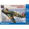 "Ark Models Hawker ""Hurricane"" Mk.IA British fighter, the Royal Air Force repülőgép makett Ark Models AK48026"