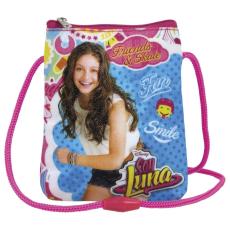 Soy Luna pénztárca, mobiltartó, nyakba akasztható