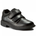 Clarks Félcipő CLARKS - Deaton Inf 203406256 Black Leather