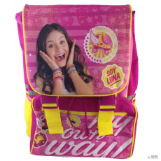 KIDS LICENSING hátizsák Soy Luna Disney My Own Way solapa 42cm gyerek
