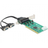 DELOCK PCI -> 2 x Serial RS-232 High Speed 921K with Voltage supply