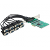 DELOCK PCI Express -> 8 x Serial RS-232 High Speed 921K