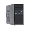 Chieftec MESH CT-01B-OP táp nélküli microATX számítógép ház fekete