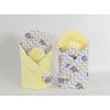 Pólya - Minky 2 oldalas Sárga esernyős elefánt