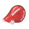 "HIBAJAVÍTÓ roller, 4,2 mm x 8 m, KORES ""Scooter"", piros (IK848511)"
