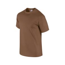 GILDAN ultra előmosott pamut póló, chestnut