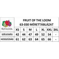 Fruit of the Loom Női premium piké póló, királykék