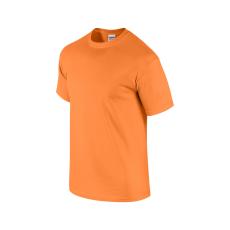 GILDAN ultra előmosott pamut póló, texasnarancs