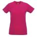 RUSSEL Női póló, hosszított, vékony fazonú, fuxia