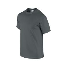 GILDAN ultra előmosott pamut póló, faszén szürke