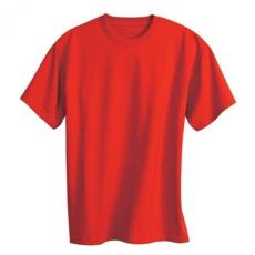 KEYA kereknyakú póló, piros