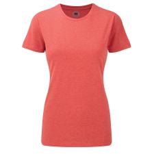 RUSSEL Karcsúsított fazonú, Russell Női póló, Red Marl női póló