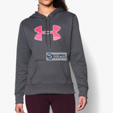Under Armour Blúz Under Armour UA Storm Fleece Printed Big Logo HoodyW 1260127-090