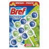 BREF Power Aktiv Pine WC illatosító, 3X50 g (9000100753340)