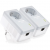 TP-Link AV500 Powerline Adapter with AC Pass Through Starter Kit, Ultra Compact Size, 500Mbps Powerline Datarate, 100M