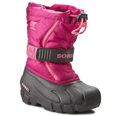 SOREL Hótaposó SOREL - Childrens Flurry NC 1885-684 Deep Blush/Tropic Pink