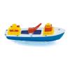 Teherhajó kis műanyag játékhajó 30 cm