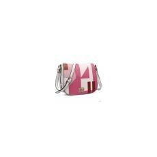 Miss Lulu London LT1663-MISSLULU PLAYFUL GIRL PRINTING táska válltáska táska rózsaszín