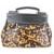 Barna Miss Lulu London L1136 - Miss Lulu StructupirosWinter Leopard kézi táska barna