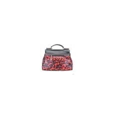 Miss Lulu London L1136 - Miss Lulu StructupirosWinter Leopard kézi táska piros