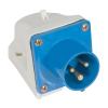 Elmark Ipari csatlakozó aljzat rászerelhető HT-513 16A Ip44 1p+N+E 230V ELMARK