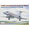 Eastern Express Tupolev Tu-134UBL Russian bomber aircrew training aircraft repülőgép makett Eastern express EE14418