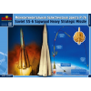 "Micro Scale Desing SS-6 ""Sapwood"" Russian intercontinental ballistic missile makett MSD44001"