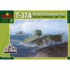 Micro Scale Desing T-37A Russian amphibious small tank makett MSD3566