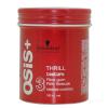 Schwarzkopf Professional Osis Thrill szálas szerkezetű hajformázó krém 100 ml