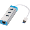 iTec i-tec USB3.0 Metal HUB 3 Port + Gigabit Ethernet adapter