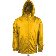 KARIBAN kapucnis széldzseki, yellow