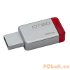 Kingston 32GB DT50 USB3.1 Silver/Red