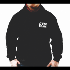 GymBeam Clothing Pulcsi Run GymBeam Black - Gym Beam