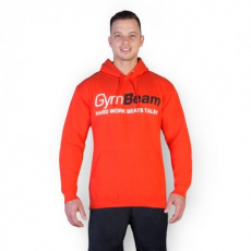 GymBeam Clothing Pulcsi Hard Work Sunset Red - GymBeam