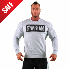 GymBeam Clothing Sweat Grey pulcsi - GymBeam