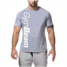 GymBeam Clothing Póló Vertical Grey - GymBeam
