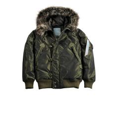Alpha Industries Arctic Jacket Női - dark green
