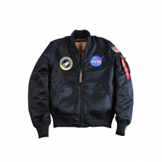 Alpha Industries MA-1 VF NASA Női - replica blue