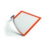 DURABLE Információs tábla -4869/09- mágneses A4 Narancs DURAFRAME <5db/csom>