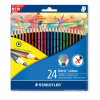 STAEDTLER Színes ceruza 24 db-os NORIS -185 C24- STAEDTLER <5klt/csom>